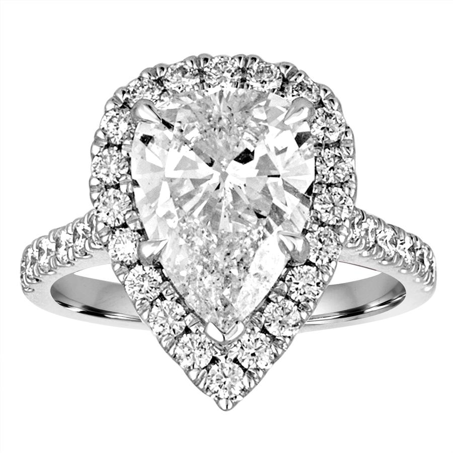 View Pear Shape Diamond Ring