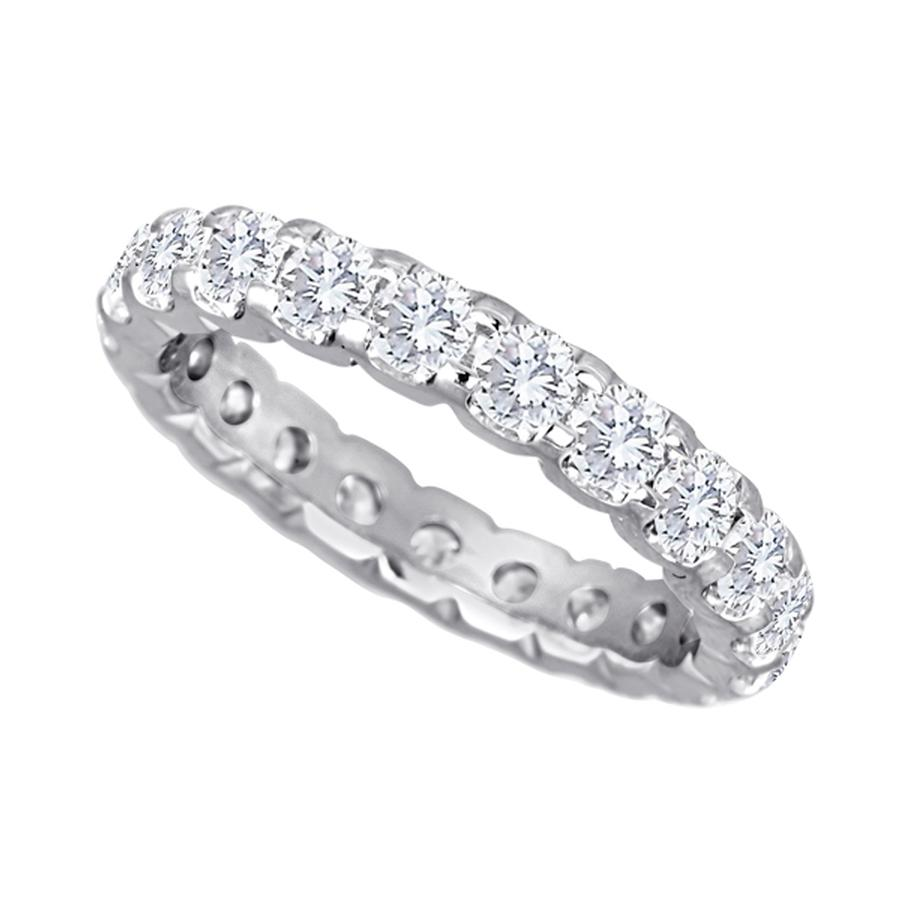 View Shared Prong Diamond Eternity Band