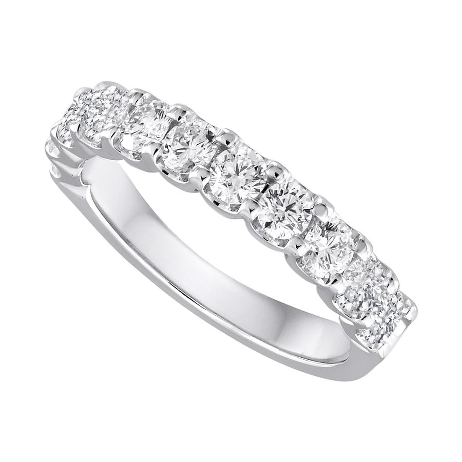 View Shared Prong Diamond 11 Stone Band