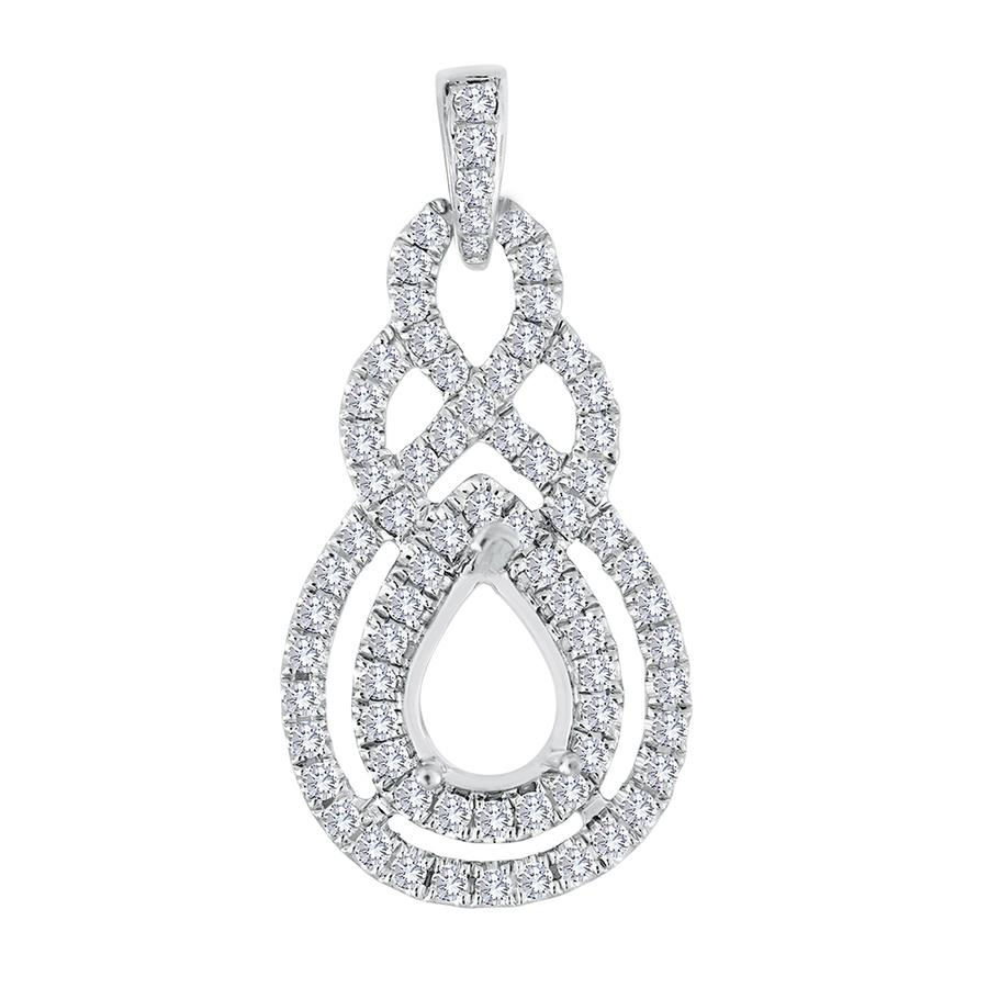 View Pear Shape Diamond Pendant