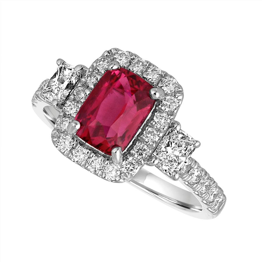 View Ruby & Diamond Ring
